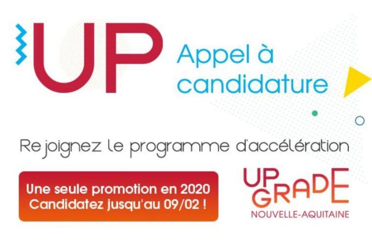 Candidatez vite à Up Grade Nouvelle-Aquitaine !