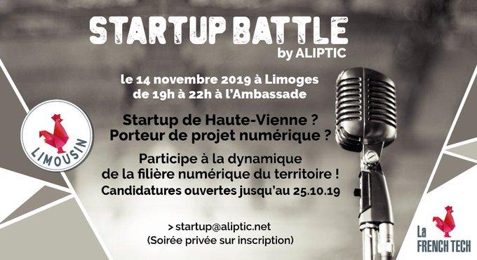Startup Battle by ALIPTIC