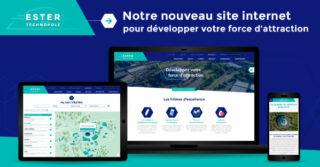 Lancement nouveau site Internet ESTER Technopole