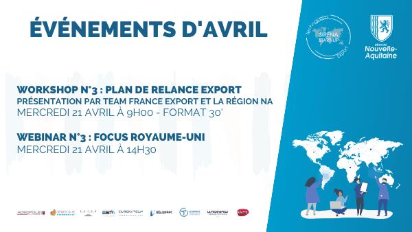 Workshop Plan relance export - TFE et Région Nouvelle-Aquitaine