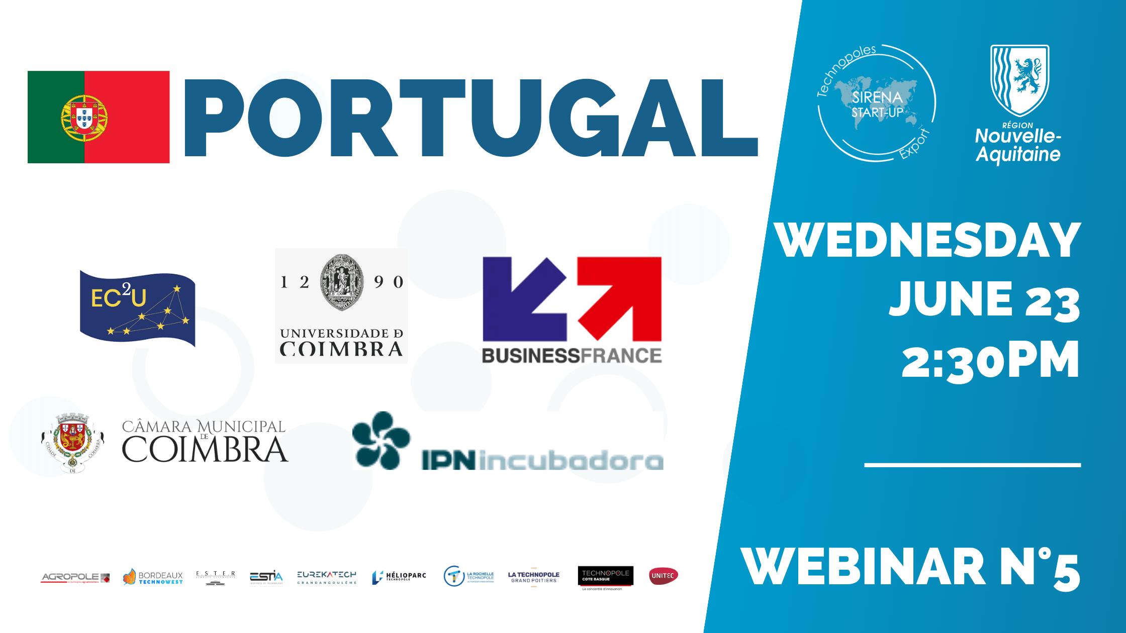 Webinar PORTUGAL (Sirena Startup)